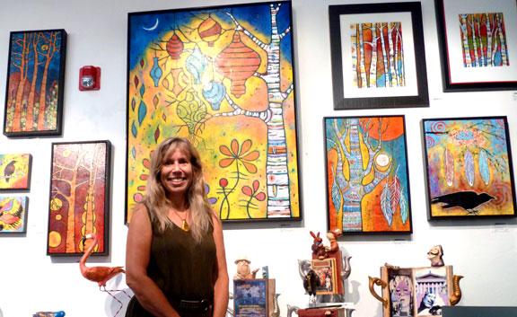 Lindy at Van Gogh's Ear Gallery